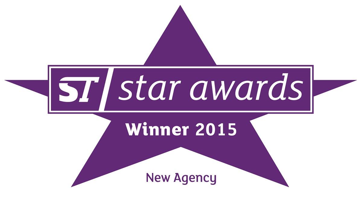 STM BEST NEW AGENCY 2015