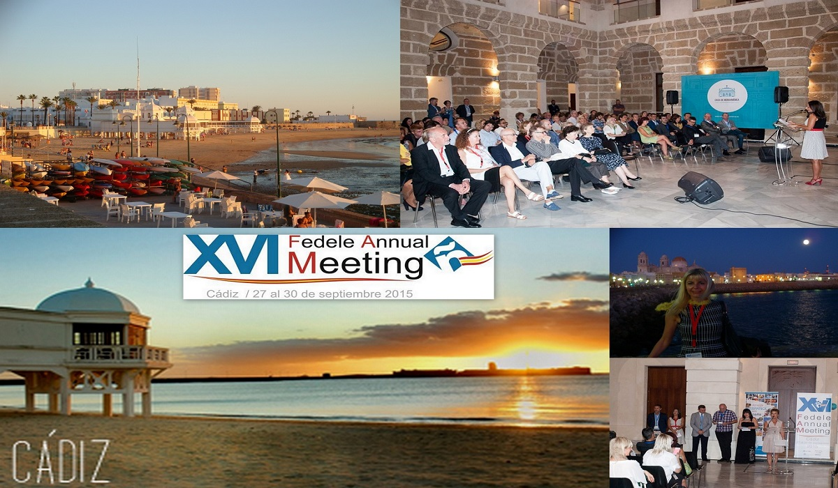 XVI FEDELE ANNUAL MEETING 2015